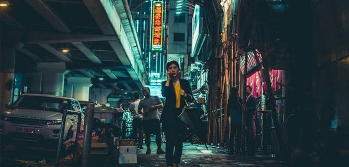 Frauen in Wan Chai treffen